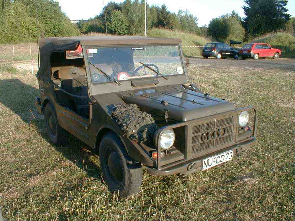 Audi military truck